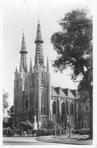 Ansichtkaart Nederlands-Indië Batavia Kathedraal HC851