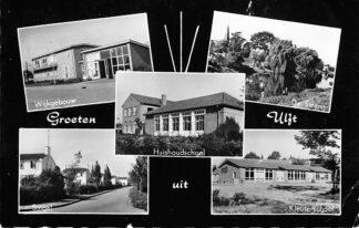 Ansichtkaart Ulft Wijkgebouw De Strang Singel Huishoud en Kleuter school 1964 HC881
