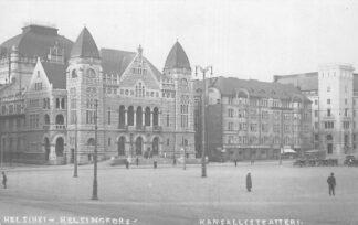 Ansichtkaart Finland Suomi Helsinki Helsingfors Kansallisteteatteri 1902 HC887