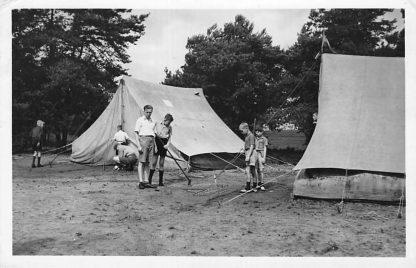 Ansichtkaart Amersfoort C.J.M.V. Kamp Oud-Leusden 1950 HC909