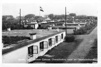 Ansichtkaart Sondel Chr. Vakantie Centrum Overzichtsfoto vanaf het Openlucht theater 1956 HC910