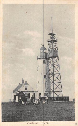 Ansichtkaart Urk Vuurtoren 1925 HC921