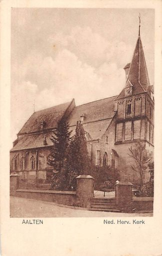 Ansichtkaart Aalten Ned. Hervormde Kerk 1927 HC927