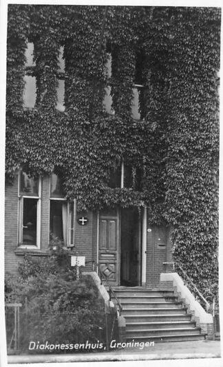 Ansichtkaart Groningen Diakonessenhuis 1950 HC936