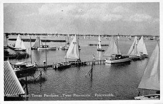 Ansichtkaart Paterswolde Uitzicht vanaf Terras Paviljoen Twee Provinciën 1958 HC952