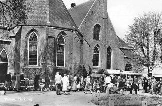 Ansichtkaart Putten Marktdag Markt 1965 HC967