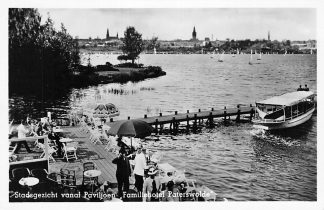 Ansichtkaart Paterswolde Stadsgezicht vanaf Paviljoen Familie hotel Paterswolde HC969