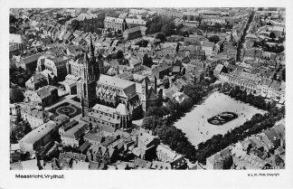 Ansichtkaart Maastricht KLM luchtfoto 1927 Vrythof 27-135 HC976