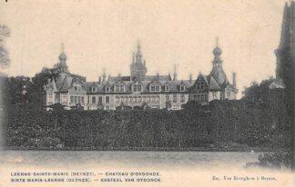 Ansichtkaart België Kasteel van Oydonck Sinte-Maria-Leerne Deinze HC988