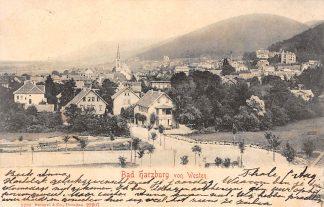 Ansichtkaart Bad Harzburg von Westen 1903 Duitsland HC992