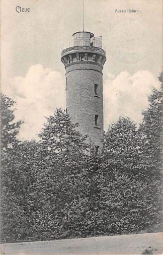 Ansichtkaart Duitsland Cleve 1907 Aussichtsturm Deutschland Europa HC1546