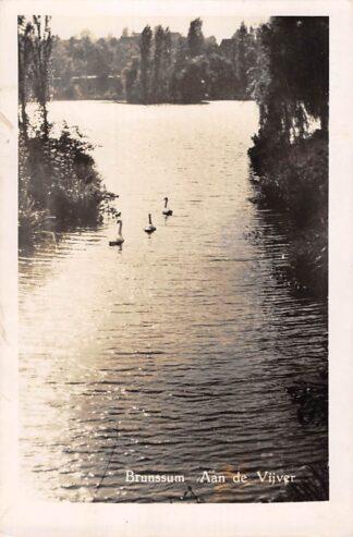 Ansichtkaart Brunssum Aan de Vijver 1949 HC1552