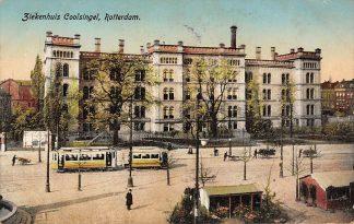 Ansichtkaart Rotterdam Ziekenhuis Coolsingel 1915 Tram HC1553