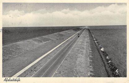 Ansichtkaart Afsluitdijk 1936 IJsselmeer HC1567