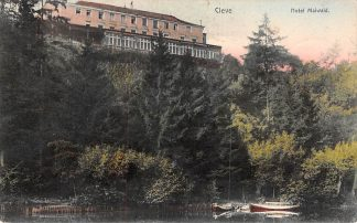 Ansichtkaart Duitsland Cleve Hotel Maiwald 1906 Deutschland Europa HC1587