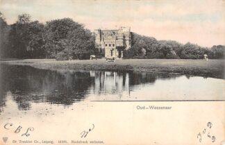 Ansichtkaart Wassenaar 1903 Kasteel Oud-Wassenaar HC1593