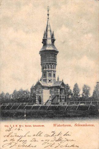 Ansichtkaart Schoonhoven Watertoren Van Nooten 1901 HC1599