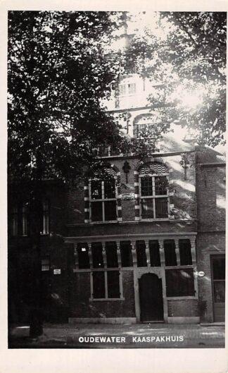 Ansichtkaart Oudewater Fotokaart Bromografia Kaaspakhuis 1932 HC1603