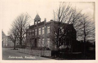 Ansichtkaart Zoeterwoude Fotokaart Raadhuis HC1614