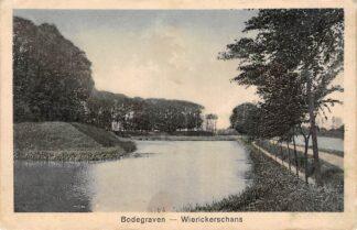 Ansichtkaart Bodegraven Fort Wierickerschans 1936 Militair HC1617