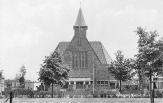 Ansichtkaart Hillegom Gereformeerde Kerk 1959 HC1638