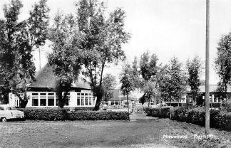 Ansichtkaart Nieuwkoop Plaszicht Café Restaurant 1962  HC1651