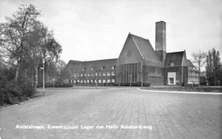Ansichtkaart Amstelveen Kweek school Leger des Heils Amsterd. weg HC1656