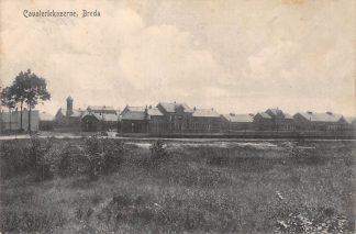 Ansichtkaart Breda Cavalerie Kazerne Militair verzonden 1918 HC1662
