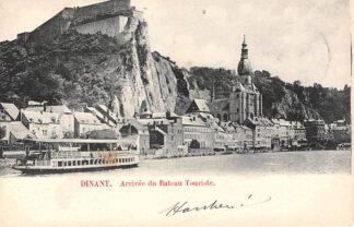 Ansichtkaart Dinant Arrivee du Bateau Touriste 1902 België HC1668