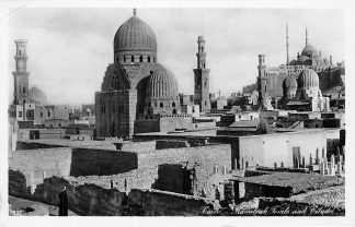 Ansichtkaart Cairo Egypte 1937 Mamalouk Tombs and Citadel Afrika HC1672