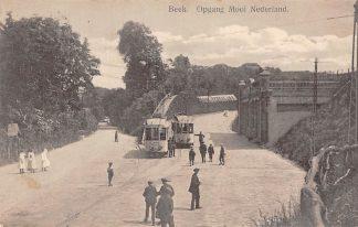 Ansichtkaart Beek (GD) Tram Station Opgang Mooi Nederland 1916 HC1674