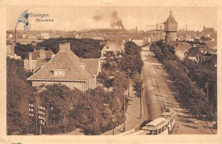Ansichtkaart Vlissingen 1915 Panorama Tram Watertoren HC1675