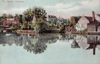 Ansichtkaart Zaandam 1915 De Braak HC1685