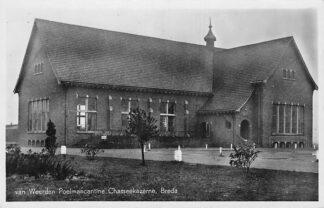Ansichtkaart Breda Chasse kazerne van Weerden Peolmancantine 1950 HC1722