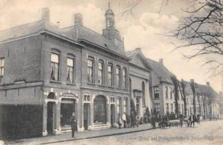 Ansichtkaart Princenhage Breda Hondenkar Dreef met Protestantenkerk 1916 HC1736