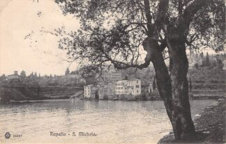 Ansichtkaart Rapallo S. Michele 1913 Italië HC1748