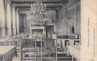 Ansichtkaart Middelburg 1905 Statenzaal in de Abdij HC1751