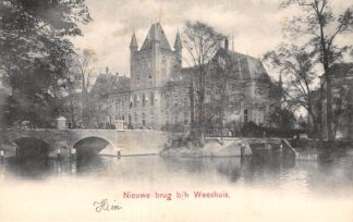 Ansichtkaart Utrecht Nieuwe Brug b/h Weeshuis HC1754