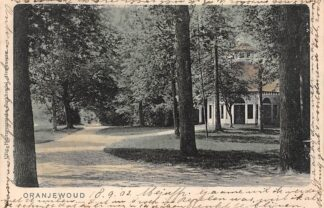 Ansichtkaart Oranjewoud Heerenveen 1903 HC1764