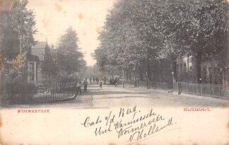 Ansichtkaart Wormerveer 1903 Marktstraat HC1766