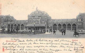 Ansichtkaart Groningen Station Spoorwegen HC1769