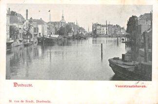 Ansichtkaart Dordrecht Voorstraathaven 1902 HC1773