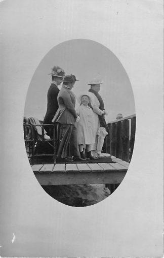 Ansichtkaart Katwijk aan Zee 1920 Fotokaart Bezoek Koningin Wilhelmina en Prinses Juliana Koningshuis HC1785