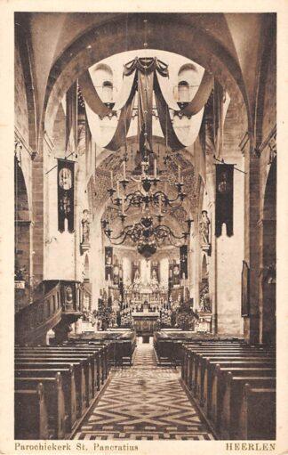 Ansichtkaart Heerlen Parochiekerk St. Pancratius HC1791