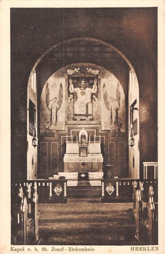 Ansichtkaart Heerlen Kapel v.h. St. Jozef - Ziekenhuis HC1792