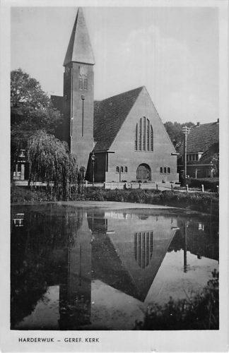 Ansichtkaart Harderwijk 1948 Gereformeerde Kerk HC1794