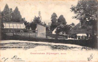 Ansichtkaart Beek Omstreken Nijmegen 1901 HC1811