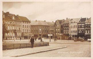 Ansichtkaart Roermond Stationsplein Auto HC1817