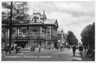 Ansichtkaart Amsterdam 1948 Concertgebouw v. Baerlestraat 1948 HC1825
