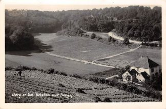 Ansichtkaart Berg en Dal Keteldal met Bergspoor Spoorwegen 1936 Nijmegen HC1833